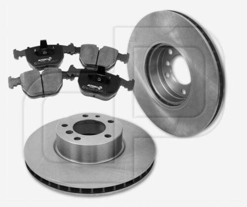 4 plaquettes de freins BMW 7er e38 740 I 740i devant 324 mm ventilée naturellement 2 Disques de frein