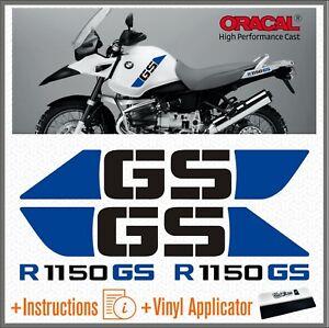 4x-R-1150-GS-Black-Blue-BMW-ADVENTURE-ADESIVI-PEGATINA-R1150-AUTOCOLLANT