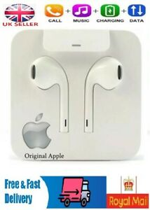 GENUINE-Apple-iPhone-7-8-X-Lightning-EARPODS-CASQUE-ECOUTEURS-MAINS-LIBRES-UK