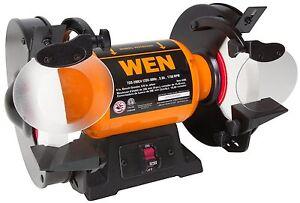 Wen 4286 8 Inch Slow Speed Bench Grinder 44459042860 Ebay