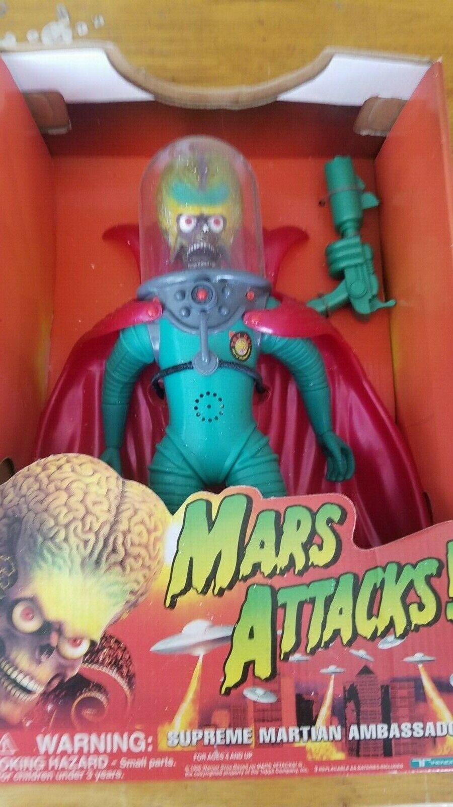 Jahr Mars Attacks Supreme Martian Ambassador 1996 Trendmasters