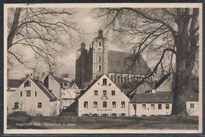 45374) Echt Foto AK Ingolstadt Teilansicht mit Dom Storchwirt 1937