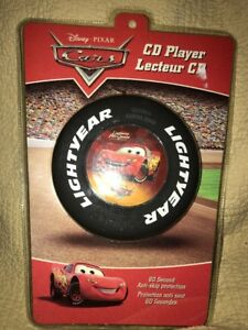Disney-Pixar-New-Lightening-Mcqueen-Cd-Player-Portable-Headphones-Anti-Skip