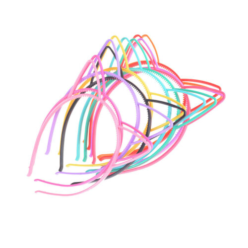 5pcs Hair Accessories Headdress Cat Ears Headband Kids HairHoop Cute Headwear TO