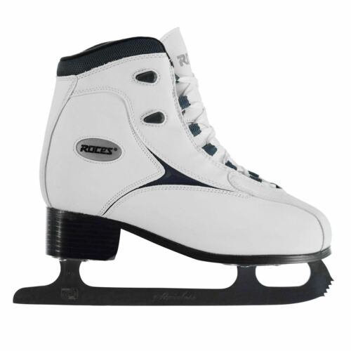 Roces Womens RFG1 Ice Skates Lace Up Shoes Cushioned Padded Ankle Collar Classic