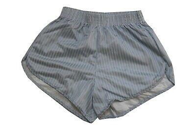 Bello 80s Vintage Nylon Shiny Shorts Taglia S A Strisce Pantaloni Sportivi Pantaloni Corti As11-mostra Il Titolo Originale