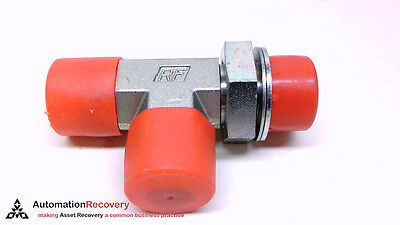 """3/4"""" Bspp Parker 12r4omx Male Tee Shape 37º Flare 3/4"""" Jic New* #212257 Sufficient Supply"""