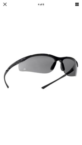 BOLLE POUCH BOLLE Contour SMOKE Lens Safety Cycling Ski Sunglasses NEW SEALED