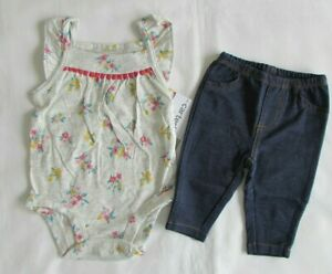 Nwt Baby Girl Clothes 3 Months Carter S 2 Piece Set New With Tags Ebay