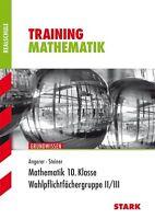 Training Realschule Mathematik: 10. Klasse, Grundwissen. Wahlpflichtfächergruppe