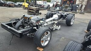05 corvette c6 rolling drivetrain chassis with ls2 engine. Black Bedroom Furniture Sets. Home Design Ideas