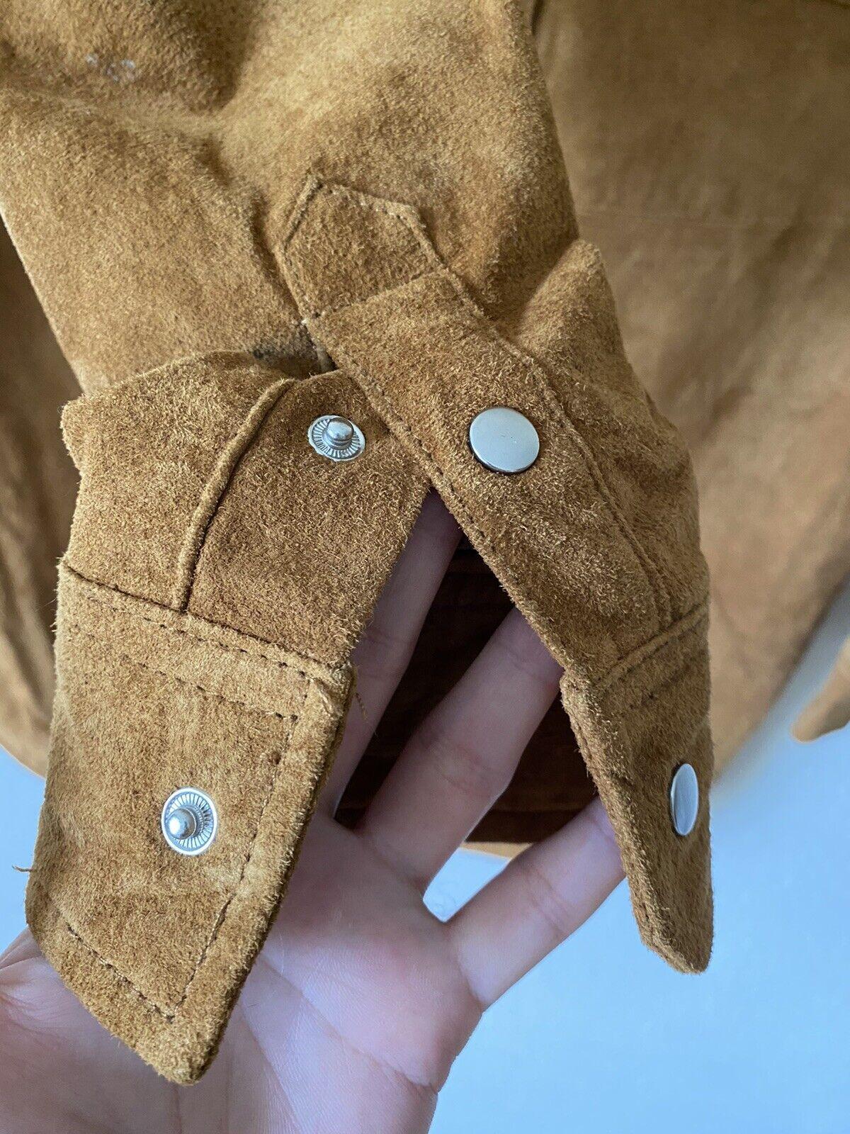 forever 21 leather jacket Shirt Size M - image 2