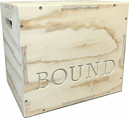 3in1 Wood Puzzle Plyometric Box for CrossFit Training & Workouts 121416