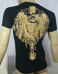 RELIGION-Y-Front-Neck-T-shirt-in-Jet-Black-Now-25