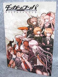 DANGANRONPA-Visual-Fanbook-Art-Book-PSP-SB79