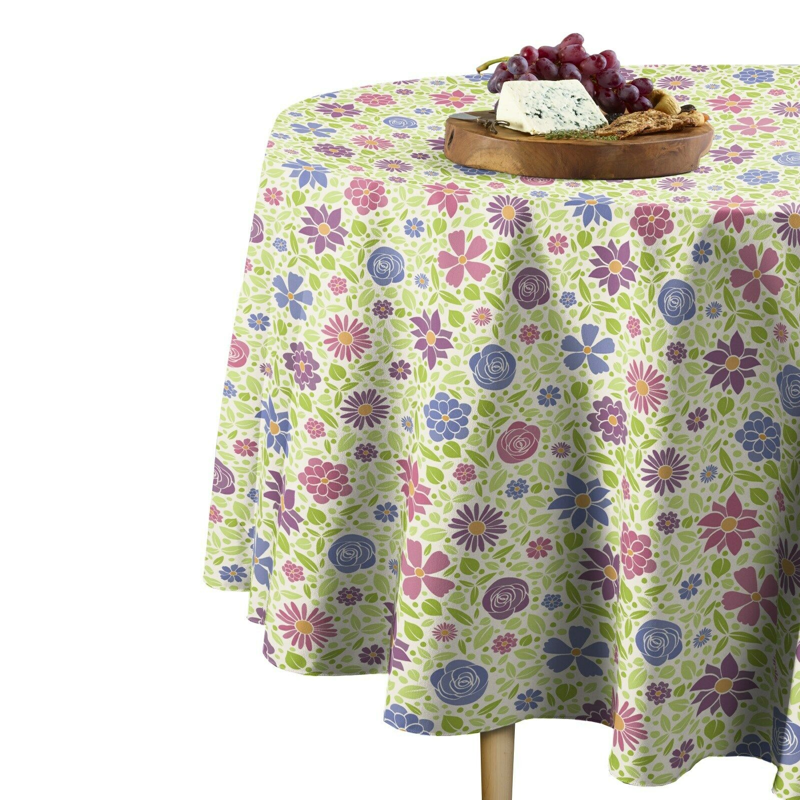 Pastel Floral Signature Round Tablecloth Assorted Größes