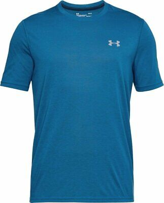 Under Armour Ua Men's Threadborne Siro Fitted T-shirt - Small - Blue - New