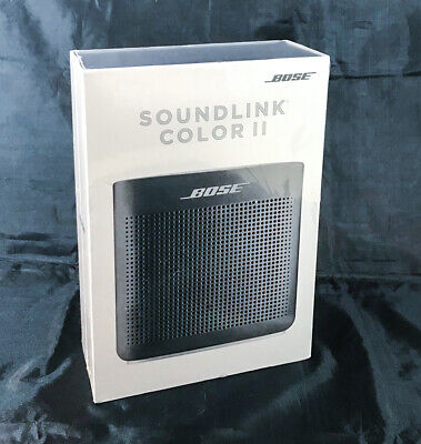 Bose Soundlink Color Bluetooth Speaker Ii Soft Black 17817746113 Ebay