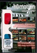 "NEU: DVD ""h0motion"" DRG Dampflokomotiven in 2D&3D anaglyph und sidebyside 66min"