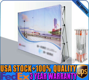 Exhibition Booth Backdrop : 100% new 8ft tension pop up display backdrop trade show exhibition