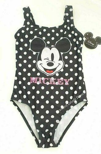 Primark Fille Disney Mickey Mouse Maillot De Bain Natation Costume Maillots de bain 7-15 Ans