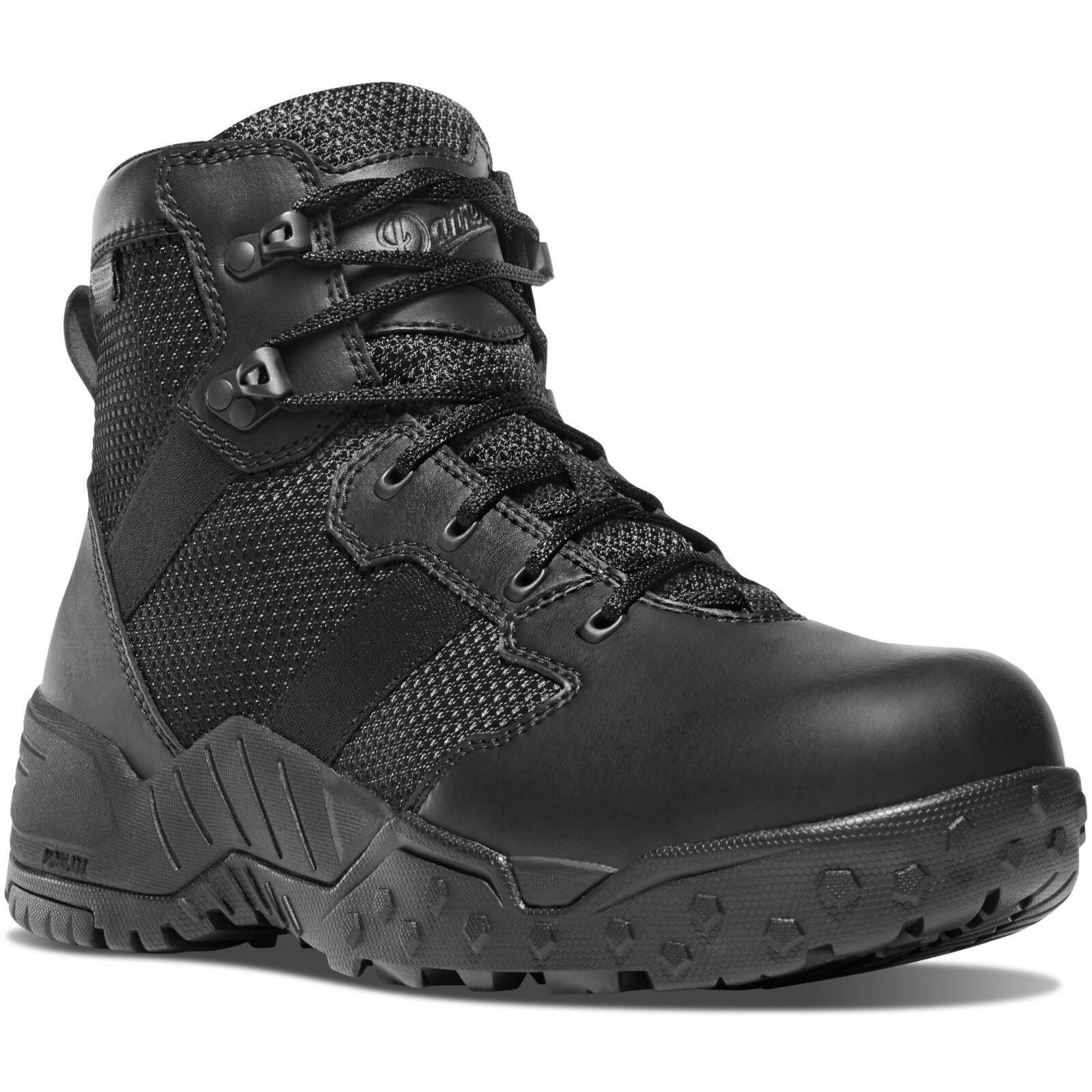 Danner Men's 25731 Scorch Side-Zip 6  Black Dry Duty Law Enforcement shoes Boots
