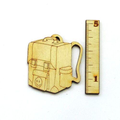 Einschulung ABC-Schütze Deko ABC 123 Bleistift Rucksack Schule Tischdeko Holz