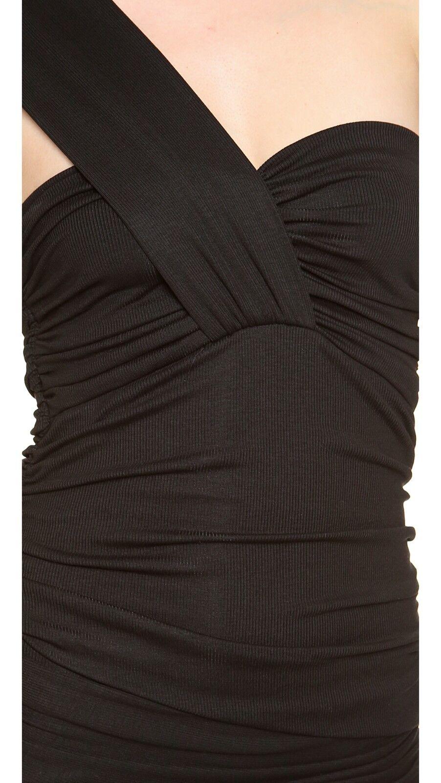 TORN BY RONNY KOBO & & & 039;Stav& 039; Negro De Un Hombro Vestido Talla S Nuevo Con Etiquetas  310 7a5e8a