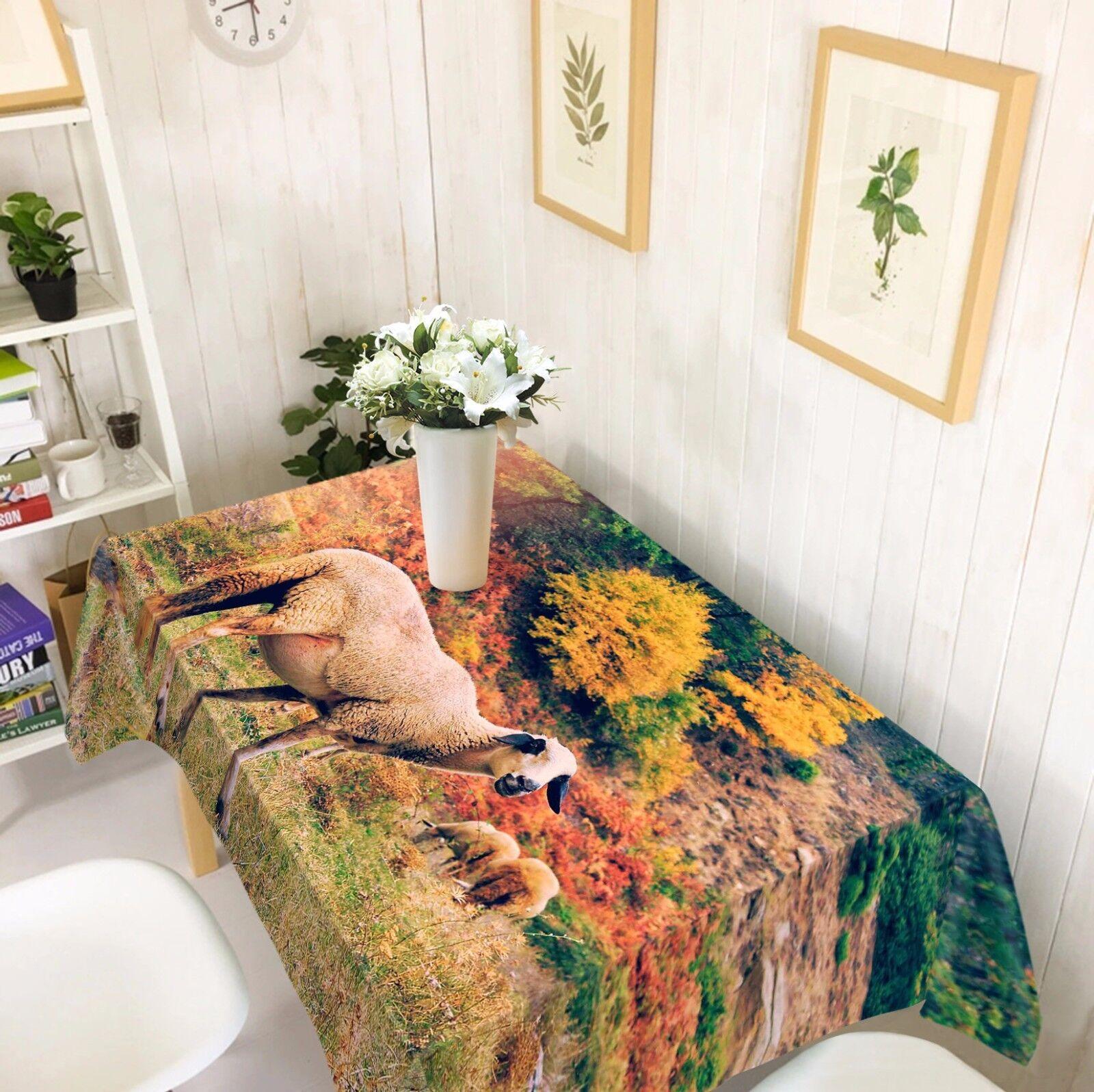 3D Sheep Tablecloth Table Cover Cloth Birthday Party AJ WALLPAPER UK Lemon