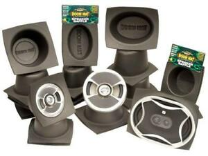 Details about DEI Pair Boom Mat Car Speaker Baffles Round Oval Improves  Sound (8 per pack)