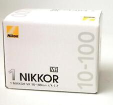New Nikon 1 NIKKOR 10-100mm f/4.0-5.6 AS VR CX IF HRI ED Lens White