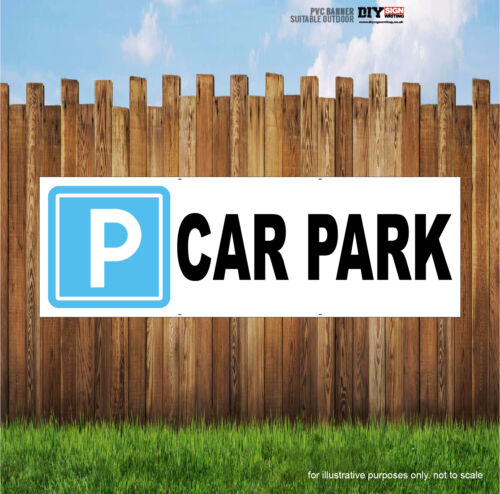 CAR PARK Indoor and Outdoor PVC Banner Sign