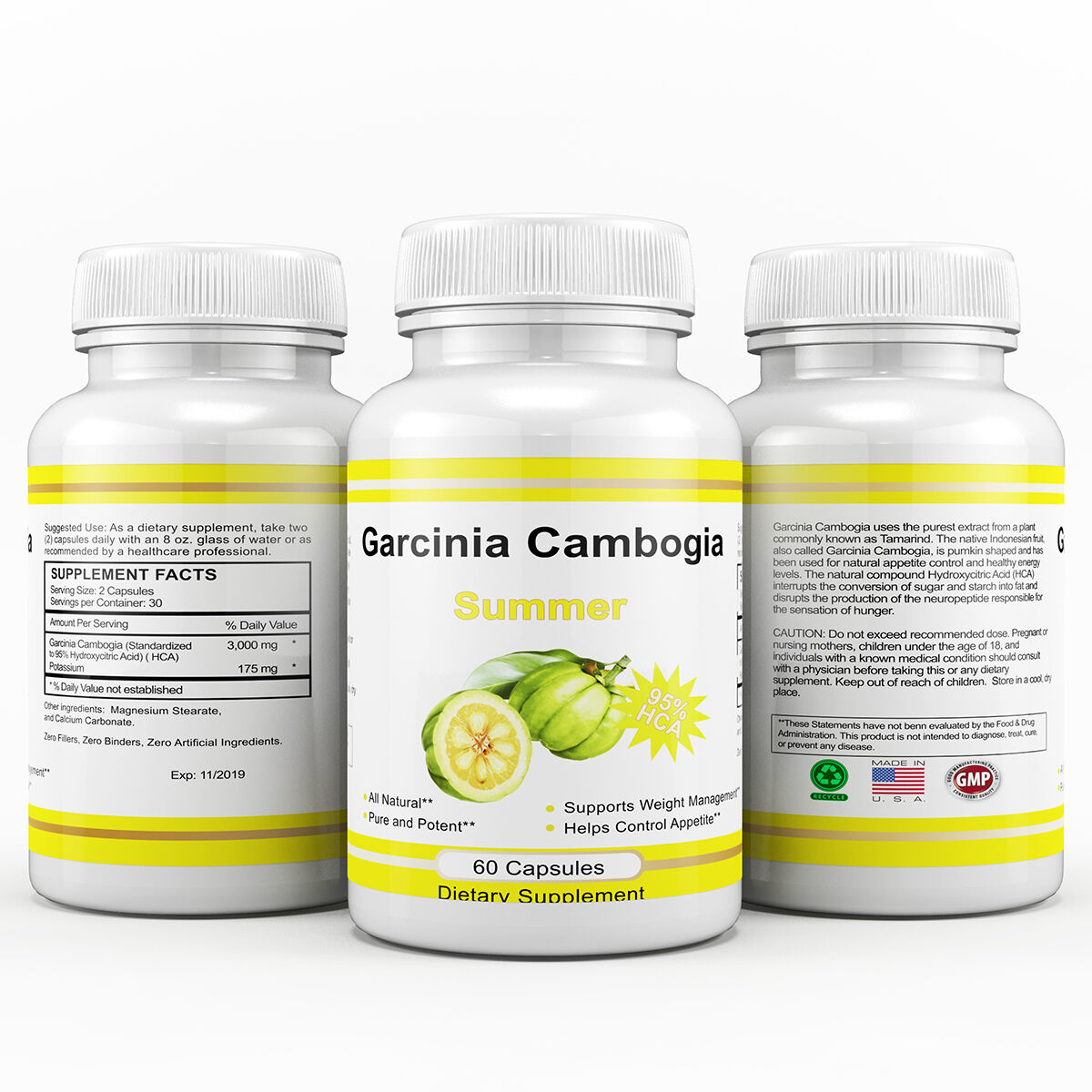 How many mg of garcinia cambogia for weight loss