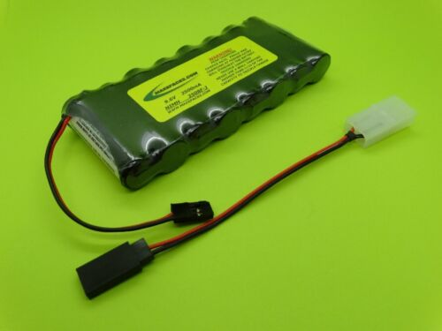 MADE IN USA 2608F-3P 2600mA FUTABA TRANSMITTER Tx BATTERY 3P NT8F