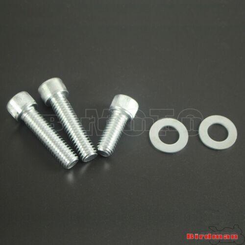 "Chrome 1.75/"" Abaissement Drop Kit en Aluminium Pour Harley Dyna Street Fat Bob 06-17 NEUF"
