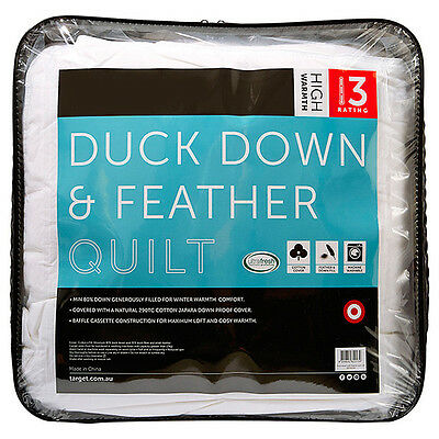 80/20 Duck Down Quilt - High Warmth Rating