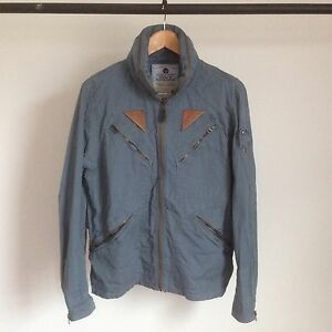 RALPH LAUREN RRL MASON COTTON FLIGHT JACKET DOUBLE RL MA-1 A2 DECK ...