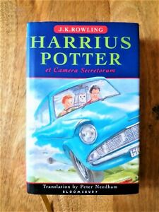1ST EDITION HARRY POTTER AND THE CHAMBER OF SECRETS (LATIN). J K ROWLING FIRST