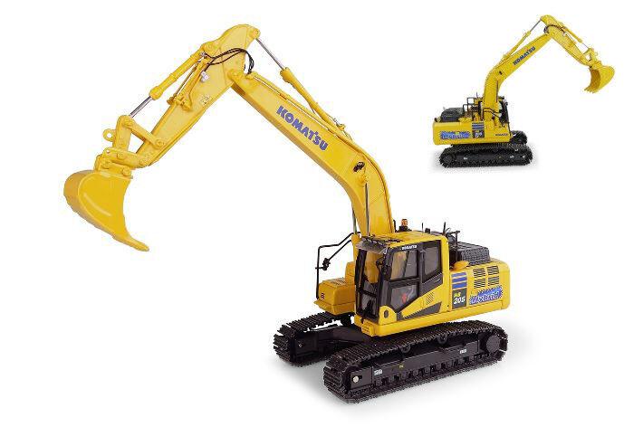 Komatsu HB 205 LC3 Hybrid Excavator 1 50 Model 8136 UNIVERSAL HOBBIES