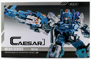 Master Made Sdt-06 César Transformers Action Figure Vendeur Usa En Stock