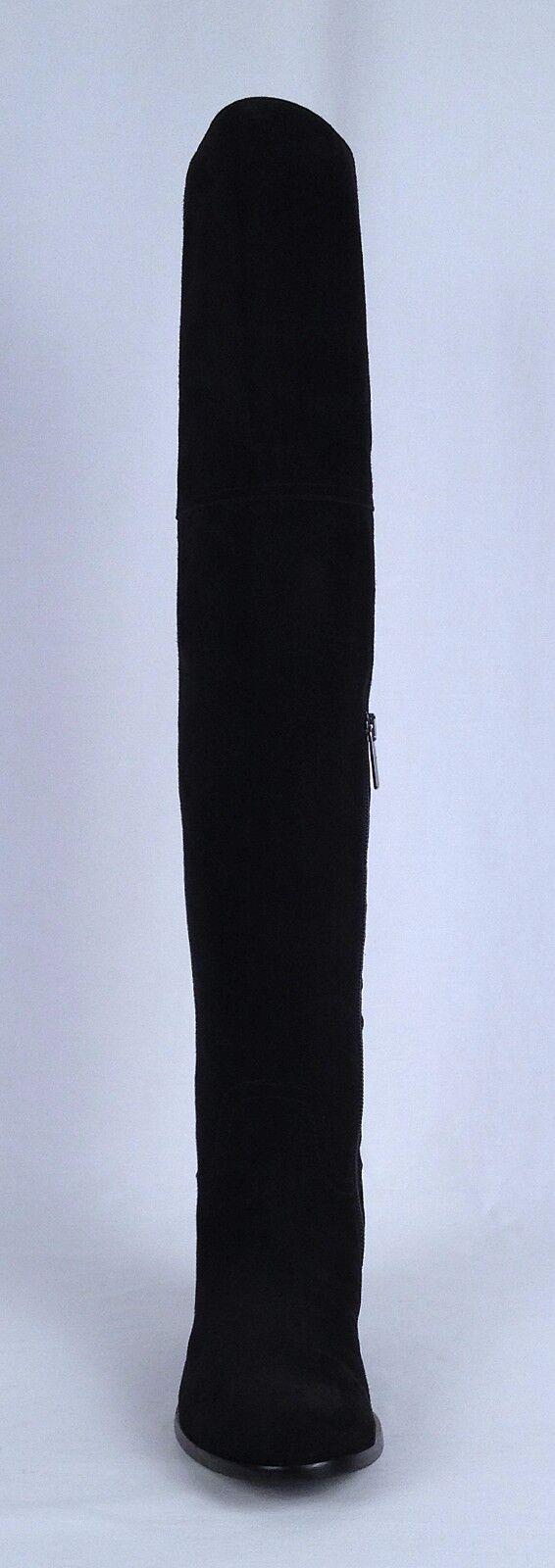 Aquatalia rodilla llamado sobre la rodilla Aquatalia Bota-de ante negro-B (B59) 9beb21