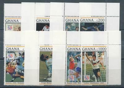 Ghana Nr.1884-1891** Fußball Ein Unverzichtbares SouveräNes Heilmittel FüR Zuhause Motive 269102
