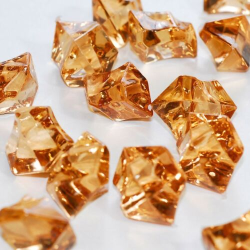 Acrylic Rock diamonds table scatter confetti Arranging Vase filler Ice Chips