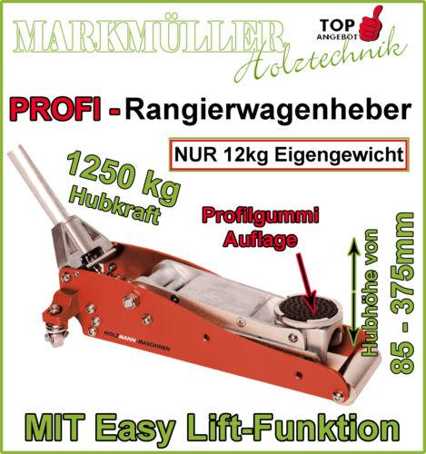 1 von 1 - Holzmann Rangierwagenheber RWH 125ALU / RWH 180ALU / RWH 250ALU Wagenheber