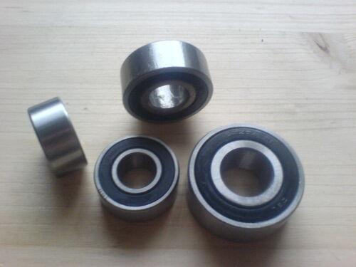 2RSR Kugellager 17x40x17,5 mm Schrägkugellager 3203 2RS 2 Stk 2RS1