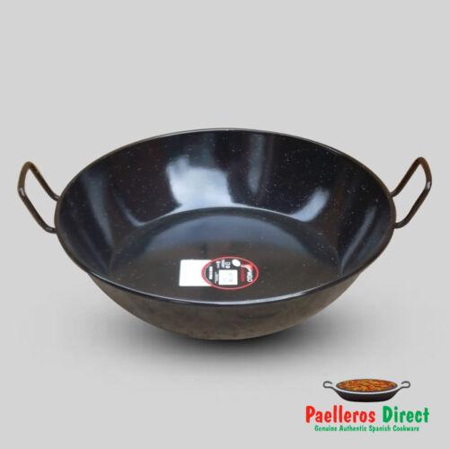 Deep Paella Pan Karahi Wok 45cm Spanish Sarten