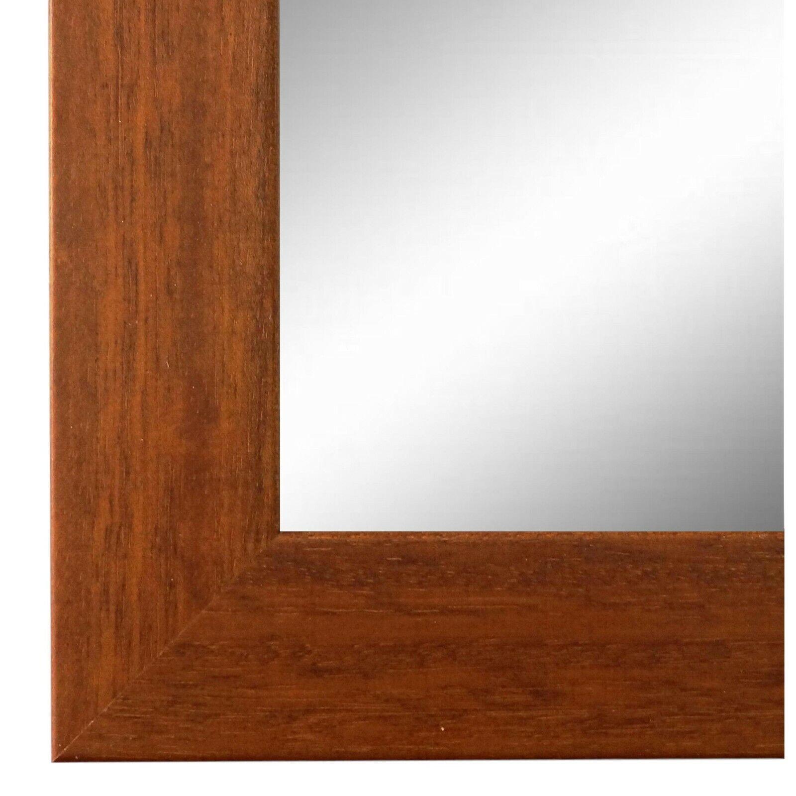 Spiegel Wandspiegel Bad Flur Holz Modern Retro Florenz Braun 4,0 - NEU