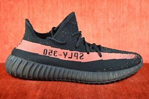 f4aa797fa8d WORN TWICE Adidas Yeezy Boost 350 V2 Red Stripe BY9612 Authentic ...
