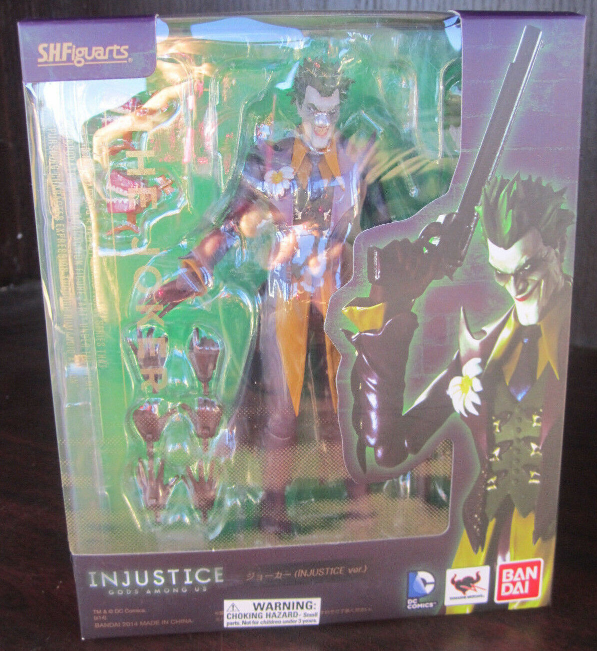 Bandai S.H. Figuarts The JOKER INJUSTICE Gods Among Us NEW IN BOX
