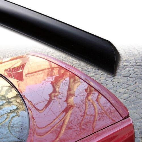 Fyralip Unpainted Trunk Lip Spoiler For Mercedes-Benz C Class W203 Sedan 01-07